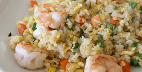 Chinese Style Shrimp Fried Rice