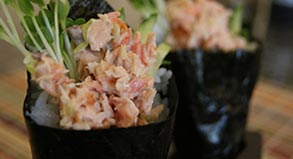 Salmon Hand Roll Recipe