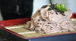 Soba Noodles with dipping sauce