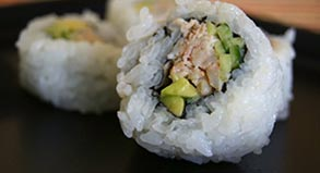 Blue Crab California Roll Recipe