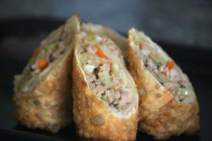 chickeneggroll 14 300x200 Chicken Egg Roll Recipe
