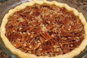 pecan pie 13 300x200 Maple Pecan Pie Recipe