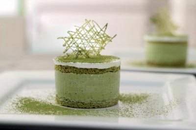 Green Tea Ice Cream Cake