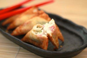 crabrangoon 15 300x200 Crab Rangoon Recipe