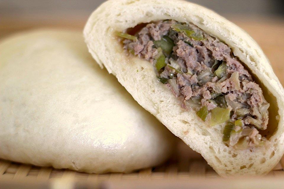 Nikuman Recipe - Steamed Beef Buns Recipe