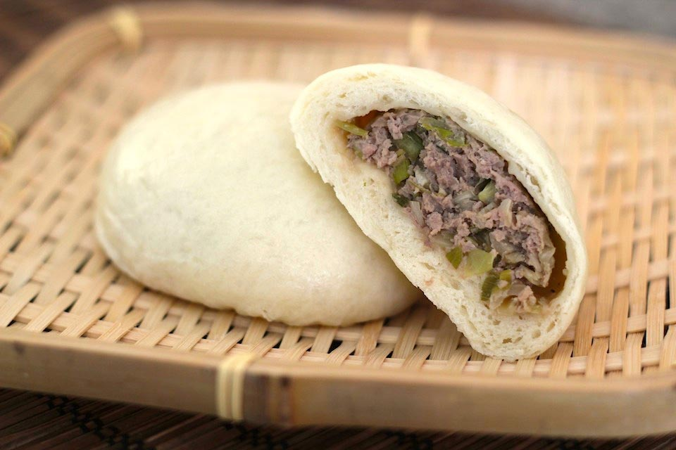 Nikuman Recipe - Steamed Beef Buns Recipe