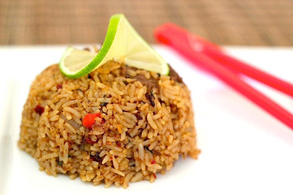 Spicy Thai Fried Rice Recipe