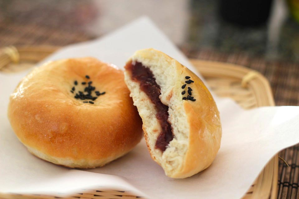 Anpan – Sweet Red Bean Buns