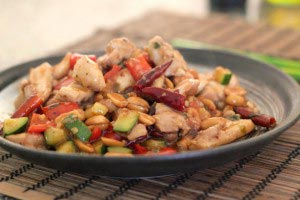 kungpao 09 300x200 Kung Pao Chicken Recipe