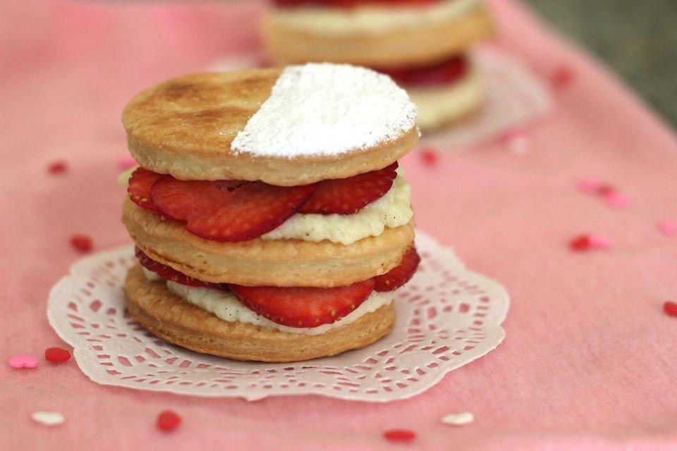 Strawberry Mille-feuille Recipe