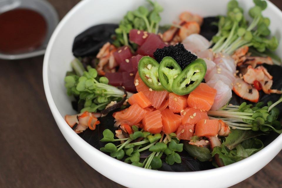 Spicy Mixed Sashimi Bowl
