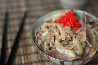 Gyudon – Beef Bowl
